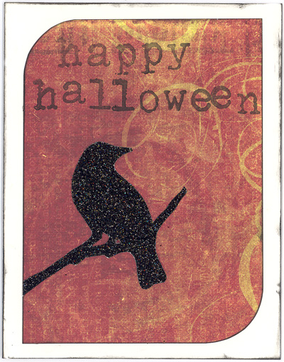 DIY Halloween Card