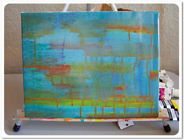 Acrylic Painting Background