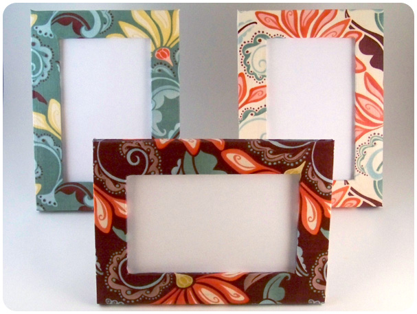 Funky Fabric Frame Redo