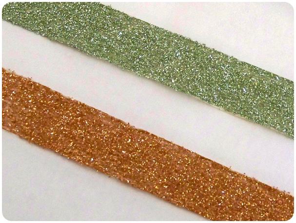 DIY Glittered Washi Tape