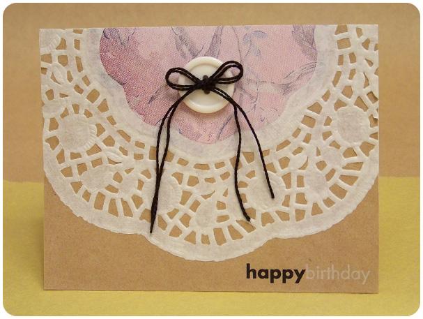 Dainty Doily Card