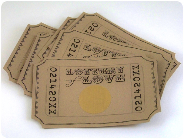 Lottery of Love Tickets