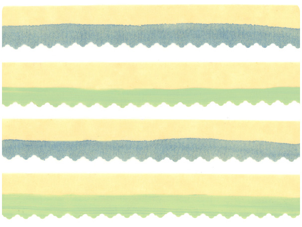 DIY Swashed & Snipped Washi Tape