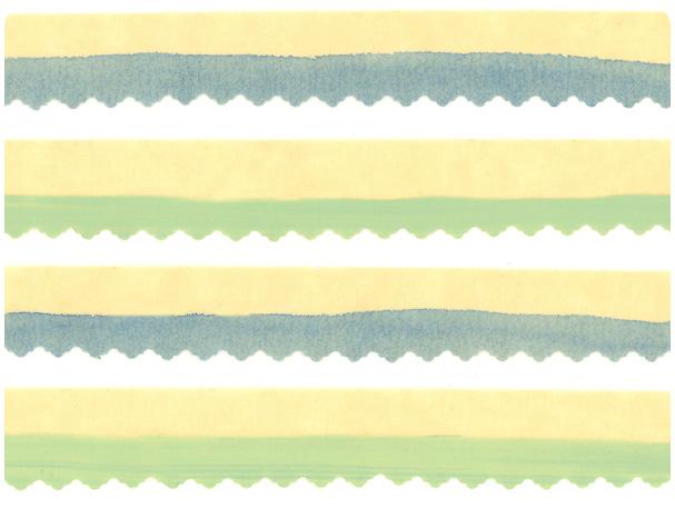 DIY Swashed & Snipped Washi Tape