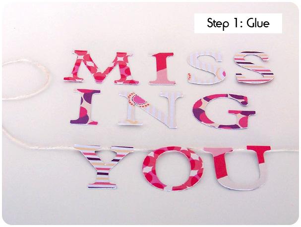 Card on a String Tutorial Step 1