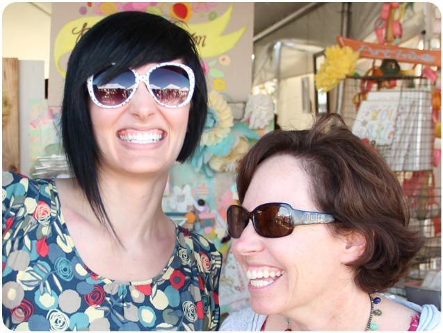 Sarah Meehan and Pam Garrison