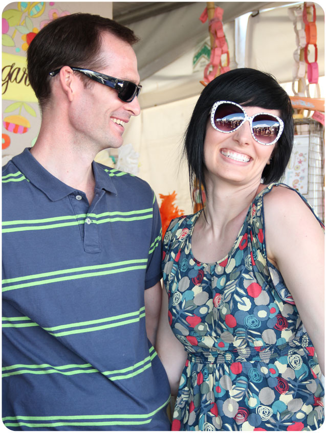 L and Sarah at the Renegade Craft Fair