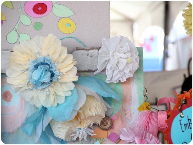 Pam Garrison Paper Flowers