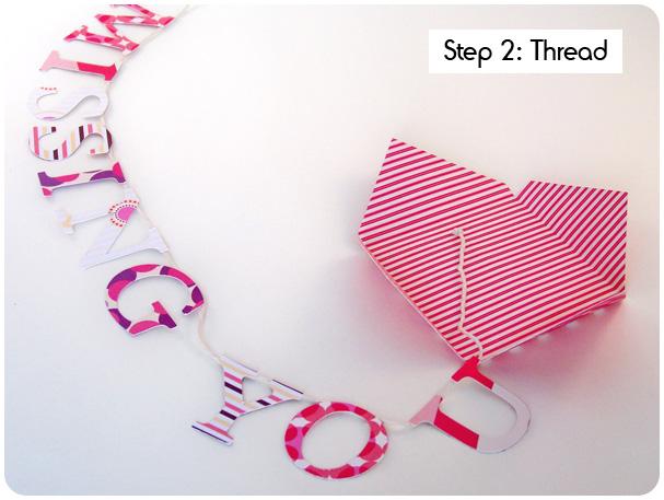 Card on a String Tutorial Step 2