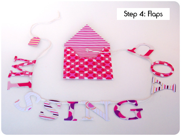 Card on a String Tutorial Step 4