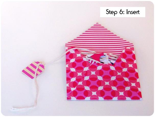 Card on a String Tutorial Step 6