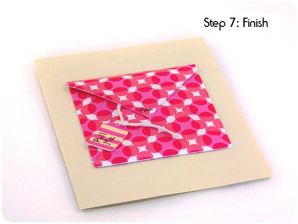 Card on a String Tutorial Step 7