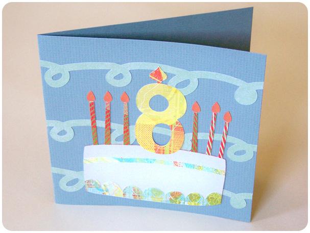 Cricut Birthday Card Project