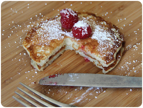 Lemon Pancake Recipe