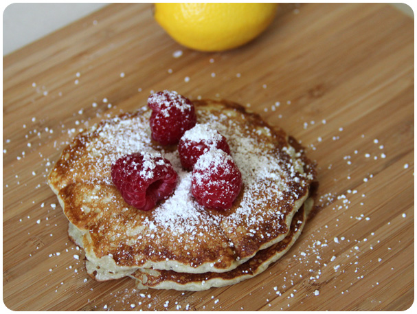 Lemon Pancakes Recipe