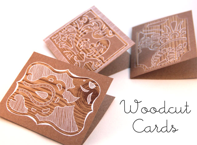 DIY Woodcut Card Tutorial