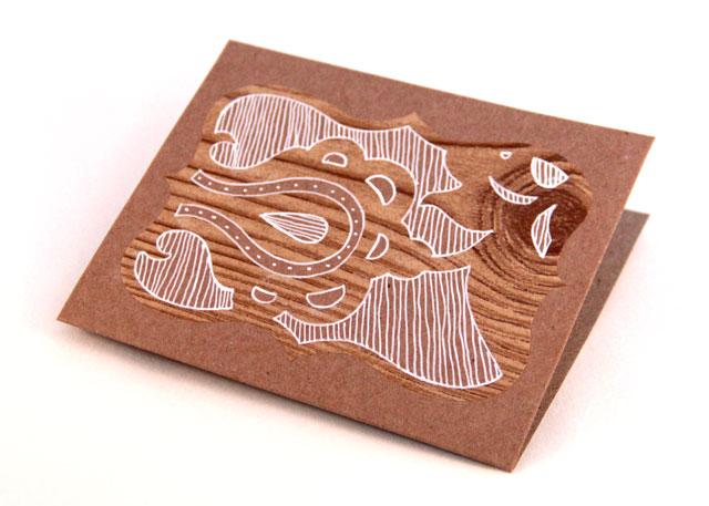 Cricut Demask Decor Card Tutorial