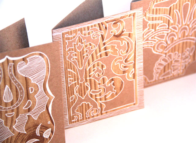 DIY Woodcut Greeting Card Tutorial